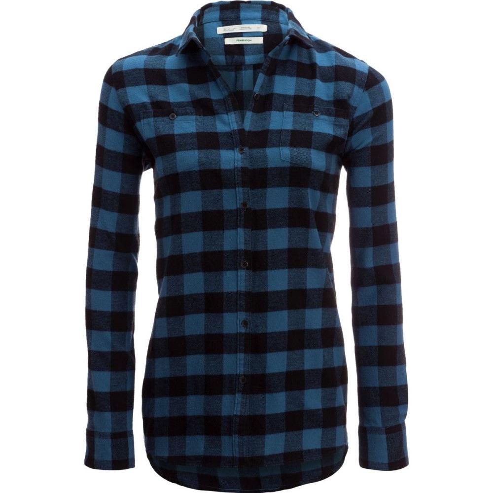 ウールリッチ レディース トップス【Buffalo Check Boyfriend Shirt】French Blue Check
