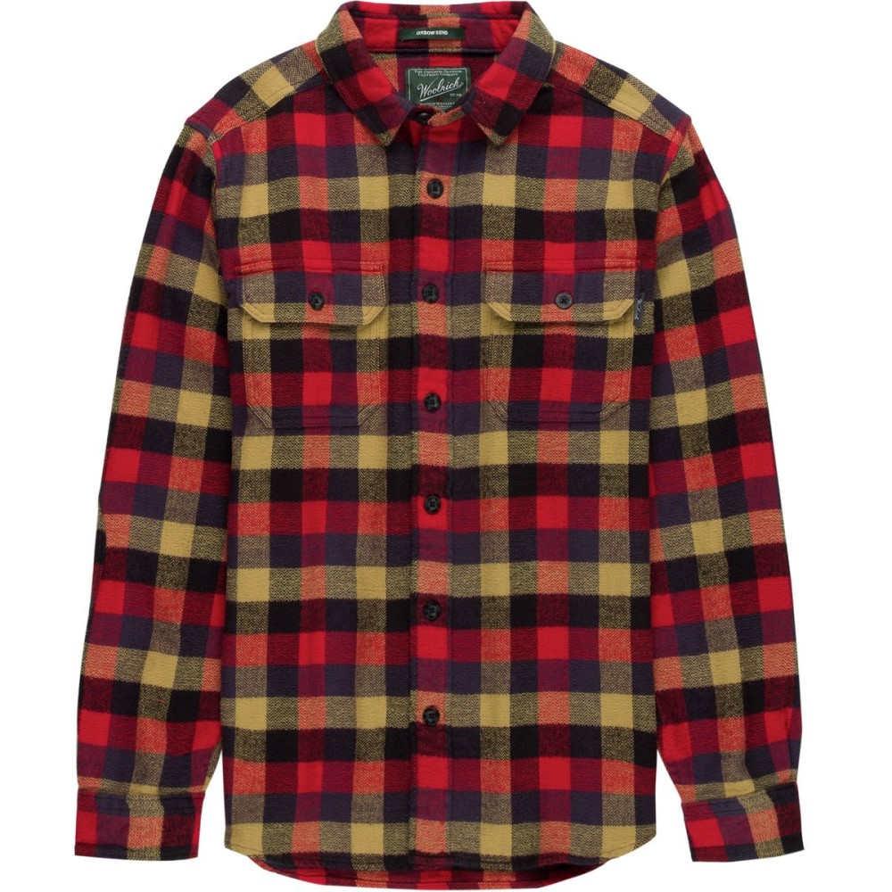ウールリッチ メンズ トップス シャツ【Oxbow Bend Modern Flannel Shirts】Red Multi