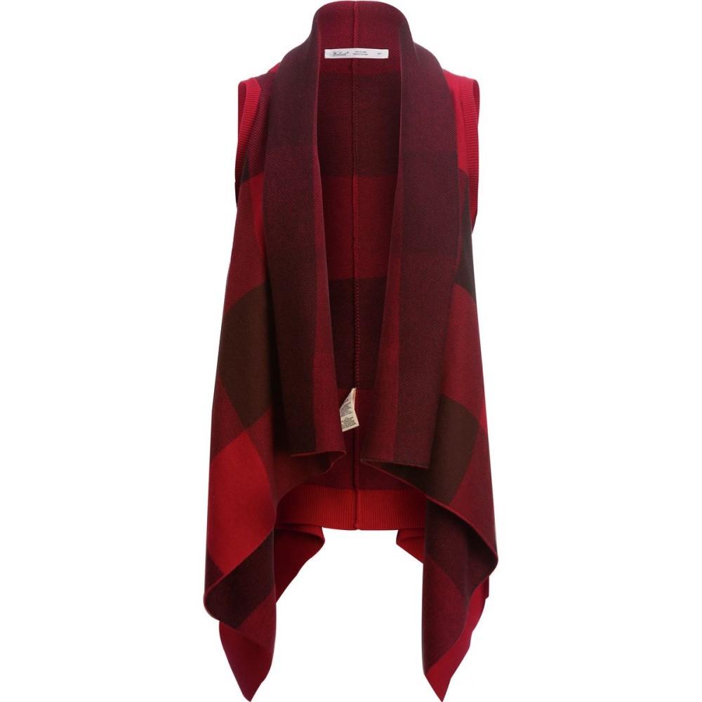 ウールリッチ レディース トップス ベスト・ジレ【Buffalo Sweater Vest】Old Red Buffalo
