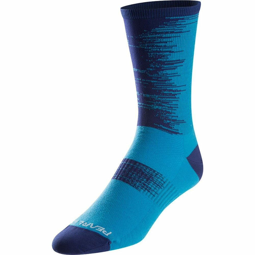 パールイズミ レディース 自転車【ELITE Tall Socks】Blue Depths Streamline