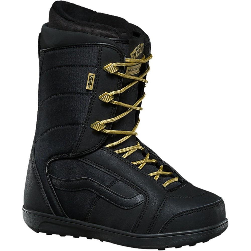 ヴァンズ レディース スキー・スノーボード シューズ・靴【Hi - Standard Snowboard Boot】Black/Gold