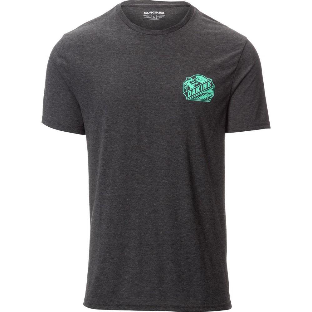ダカイン メンズ 自転車 トップス【Tech T - Shirts】Heather Black Twin Peaks
