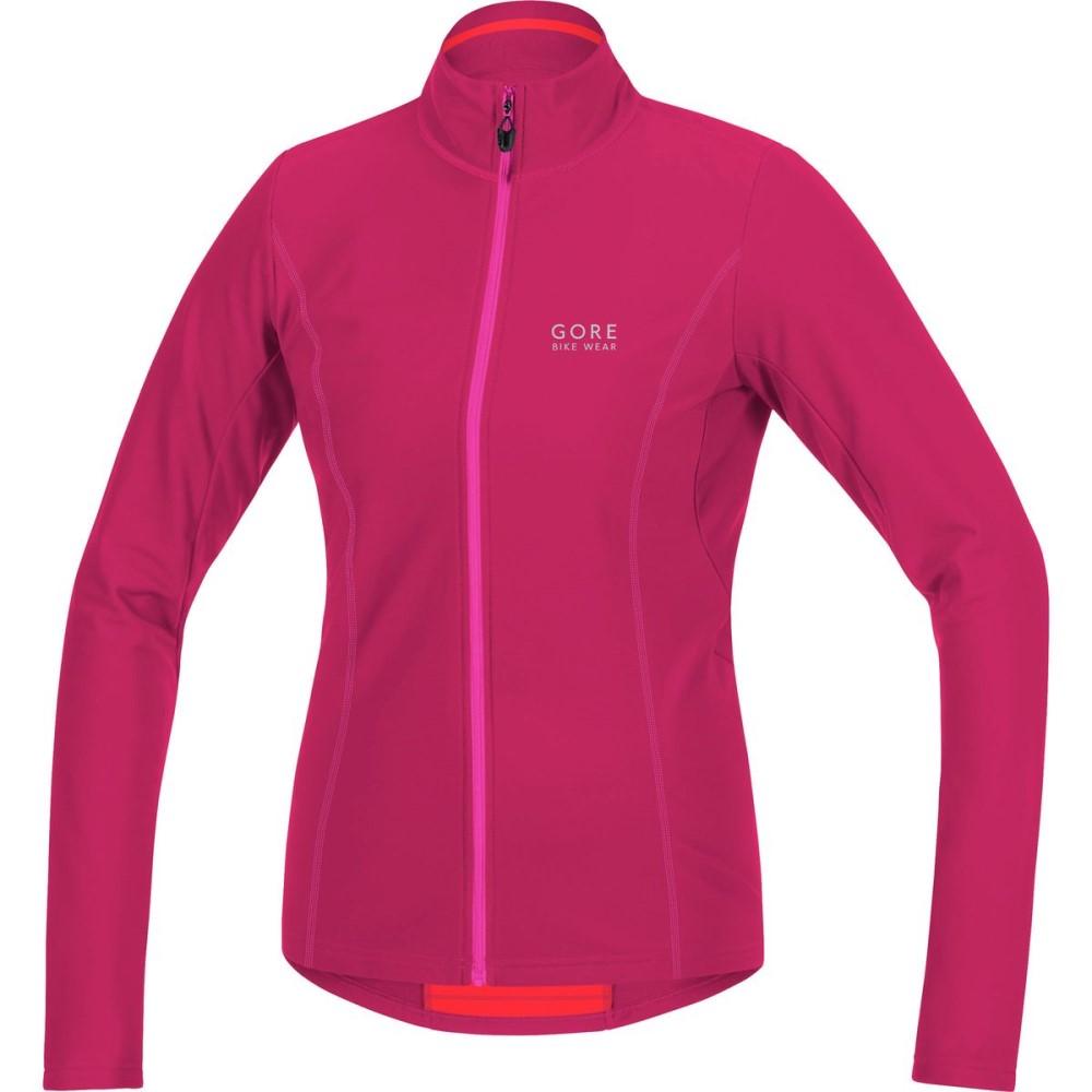 ゴアバイクウェア レディース 自転車 トップス【Element Thermo Jersey - Long - Sleeve】Jazzy Pink/Magenta