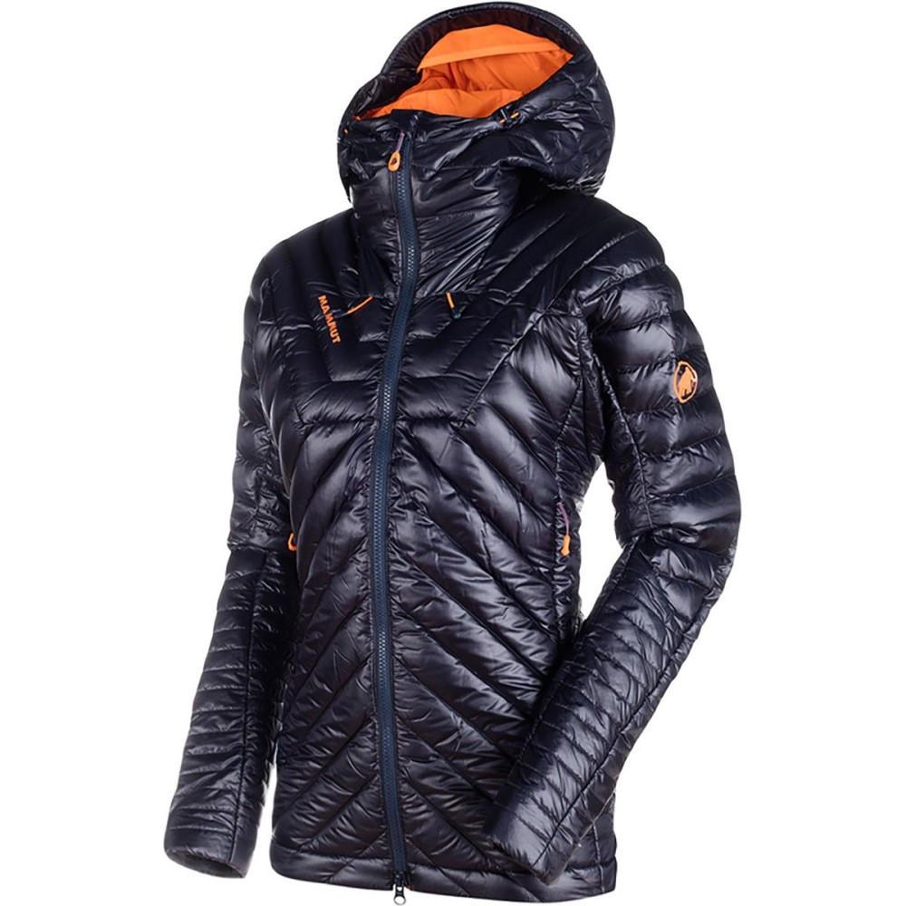マムート レディース アウター ダウンジャケット【Eigerjoch Advanced IN Hooded Down Jacket】Night