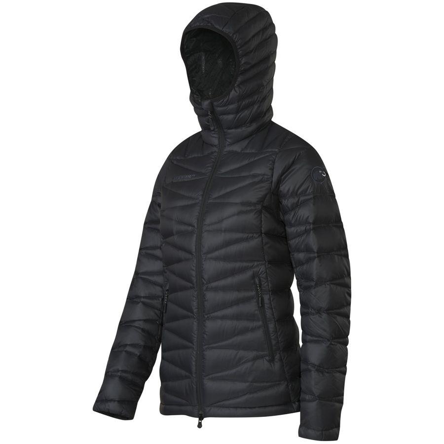 マムート Mammut レディース アウター ジャケット【Miva IS Hooded Down Jacket】Black