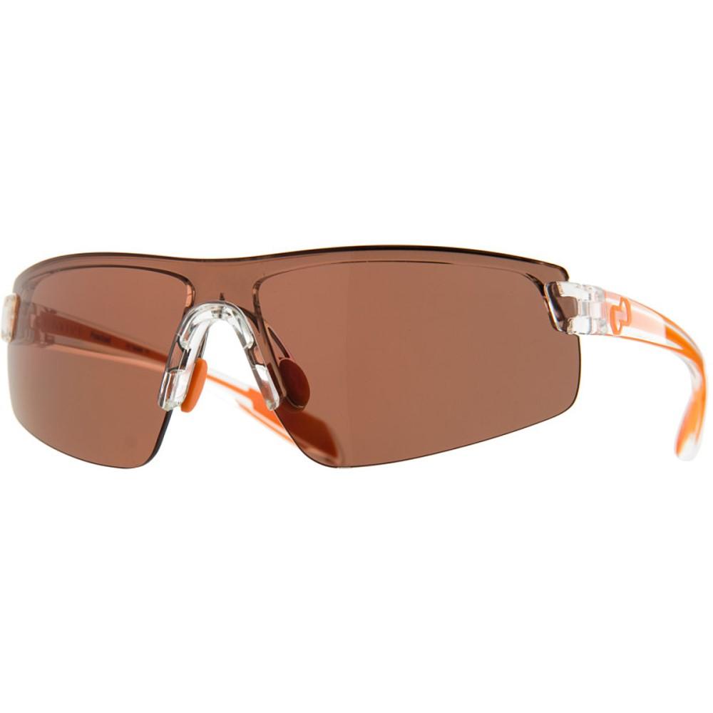 ネイティブアイウェア レディース スポーツサングラス【Lynx Sunglasses - Polarized】Crystal-Orange/Copper