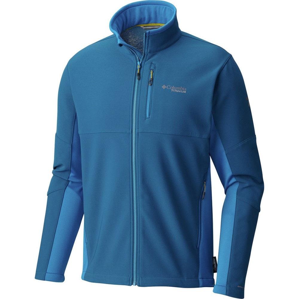 コロンビア メンズ アウター ジャケット【Titanium Titan Ridge II Hybrid Softshell Jackets】Phoenix Blue