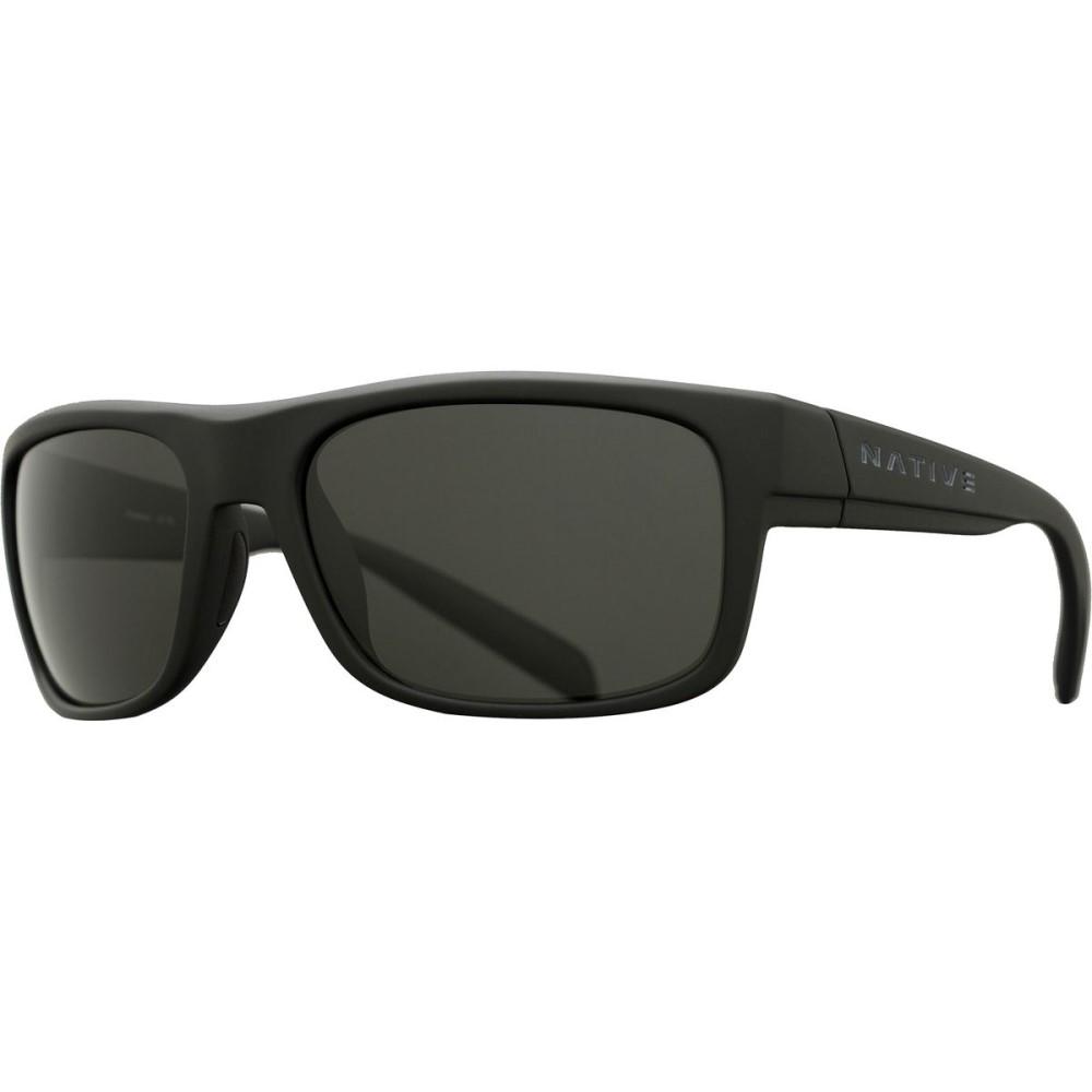 ネイティブアイウェア レディース メガネ・サングラス【Ashdown Sunglasses - Polarized】Matte Black/Gray