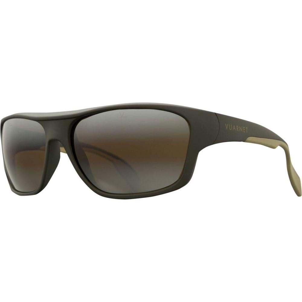ヴュアルネ メンズ スポーツサングラス【Racing VL 1402 Sunglasses】Matte Olive/Brownlynx