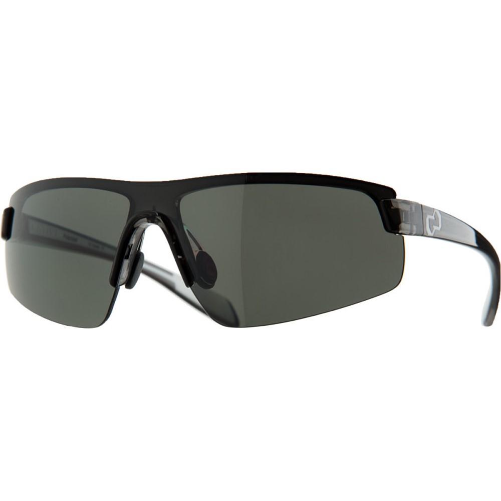 ネイティブアイウェア レディース スポーツサングラス【Lynx Sunglasses - Polarized】Smoke-White/Silver Reflex