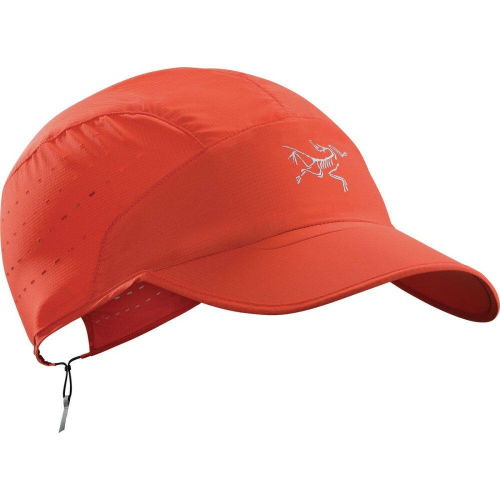 アークテリクス レディース ランニング・ウォーキング【Incendo Hat】Cardinal
