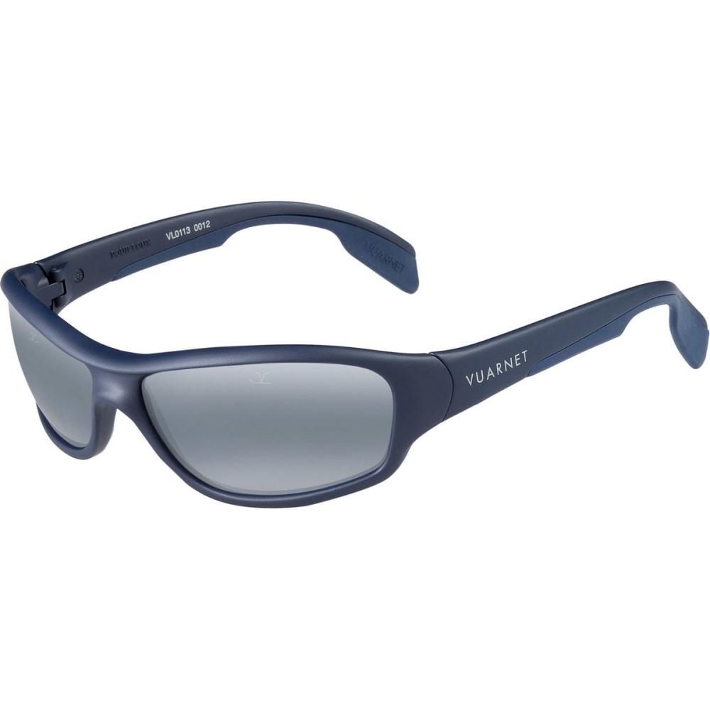 ヴュアルネ レディース スポーツサングラス【Racing VL 0113 Sunglasses - Polarized】Matte Dark Blue/ Polar Blue Lynx