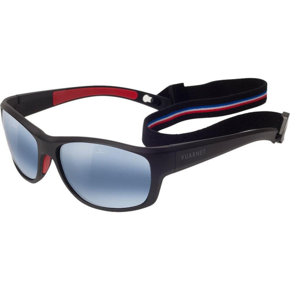 ヴュアルネ メンズ スポーツサングラス【Cup VL 1521 Sunglasses - Polarized】Matte Black/ Polar Blue Lynx