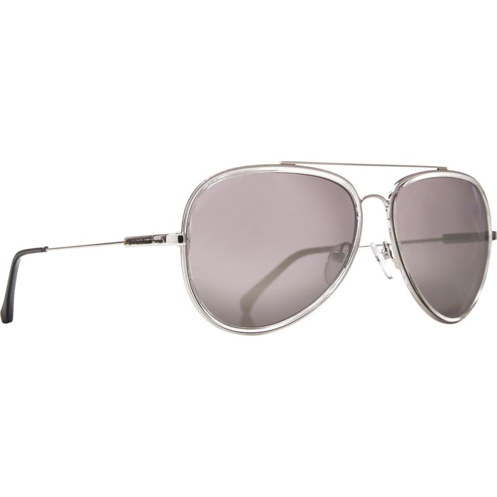 ドラゴン メンズ メガネ・サングラス【Status Sunglasses】Shiny Silver/Silver Ion