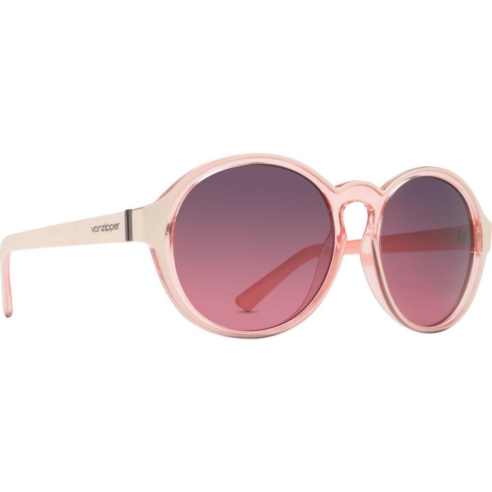 ボンジッパー レディース メガネ・サングラス【Lula Sunglasses】Sand Coral/Plum Rose Graident