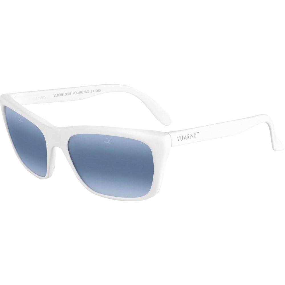 ヴュアルネ レディース メガネ・サングラス【O6 Sunglasses - Polarized】White Matte/Polar Blue Lynx