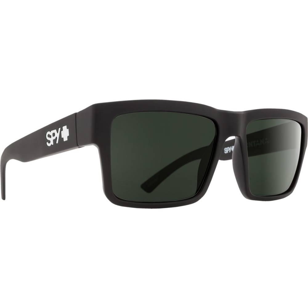 スパイ レディース メガネ・サングラス【Montana Sunglasses】Soft Matte Black - Happy Gray Green