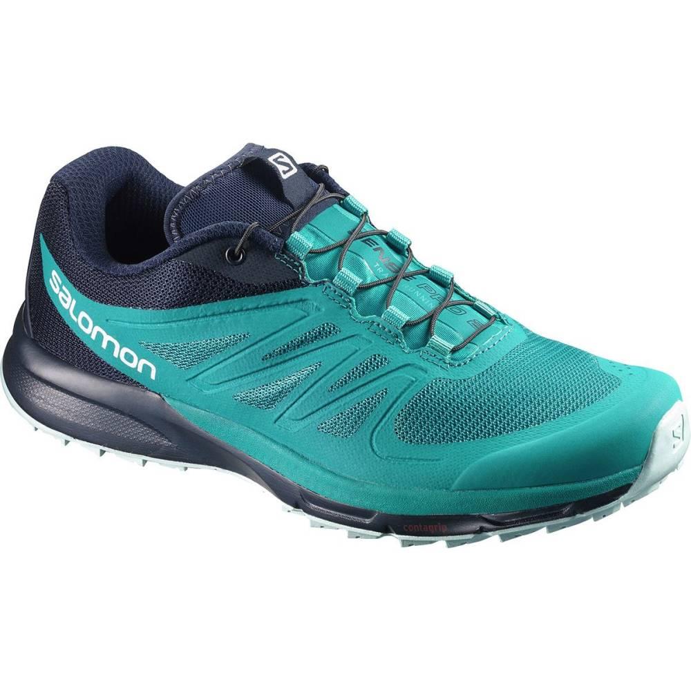 サロモン レディース ランニング・ウォーキング シューズ・靴【Sense Pro 2 Running Shoe】Enamel Blue/Navy Blazer/Eggshell Blue