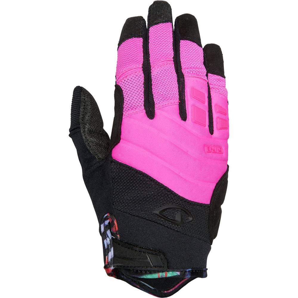 ジロ レディース 自転車 グローブ【Xena Gloves】Pink/Black/Tropical