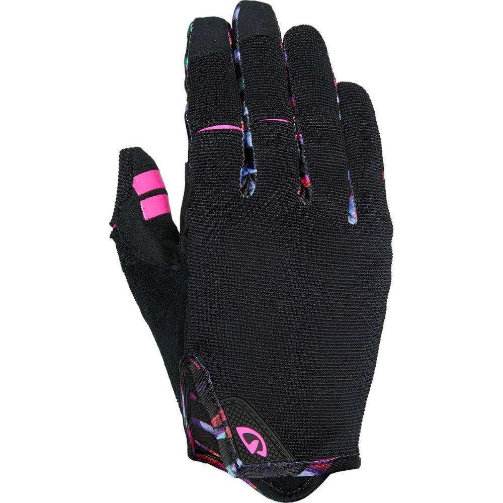 ジロ レディース 自転車 グローブ【LA DND Gloves】Black/Tropical Daze