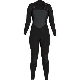エクセルハワイ レディース 水着・ビーチウェア ウェットスーツ【Drylock 3/2mm TDC Full Wetsuit】Black/Black Logos