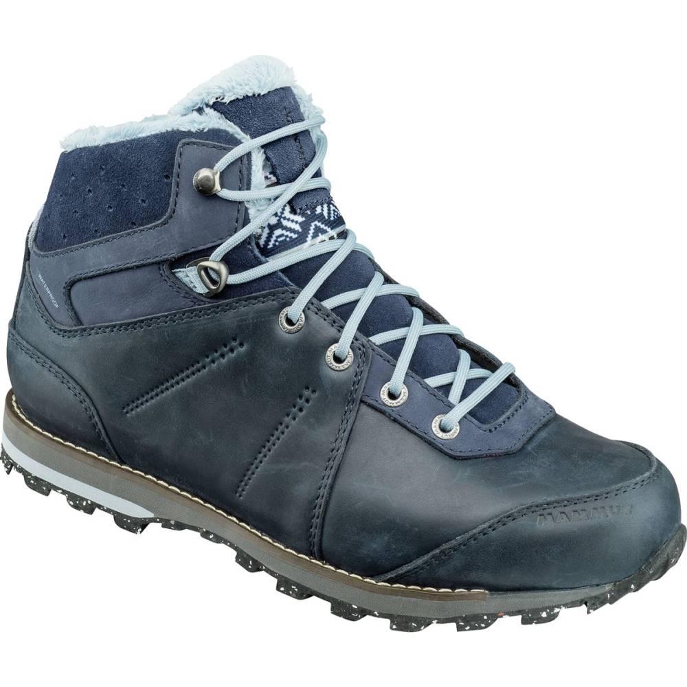 マムート レディース ハイキング・登山 シューズ・靴【Chamuera Mid WP Hiking Boot】Marine/Fog
