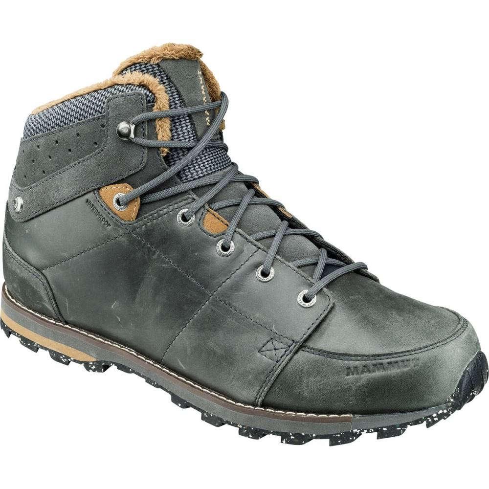マムート メンズ ハイキング・登山 シューズ・靴【Chamuera Mid WP Hiking Boots】Dark Graphite/Timber