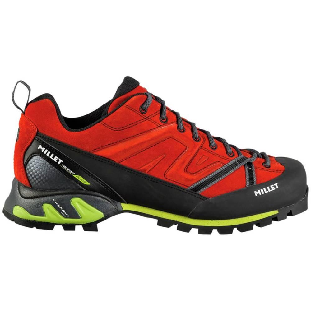 ミレー メンズ ハイキング・登山 シューズ・靴【Trident Guide Approach Shoes】Red/Acid Green