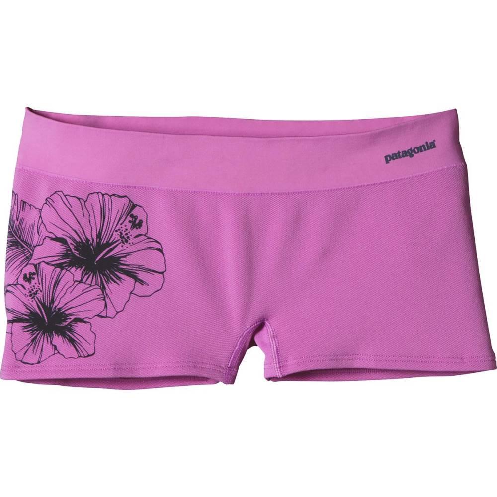 パタゴニア レディース インナー・下着 ショーツ【Active Mesh Boy Short】Waterflower Graphic/Mock Purple