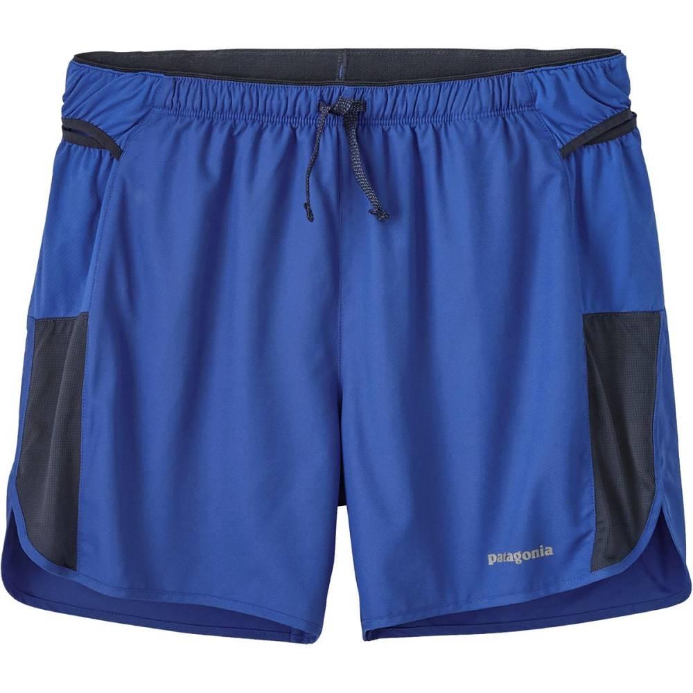 パタゴニア メンズ フィットネス・トレーニング ボトムス・パンツ【Strider Pro 5in Shorts】Viking Blue