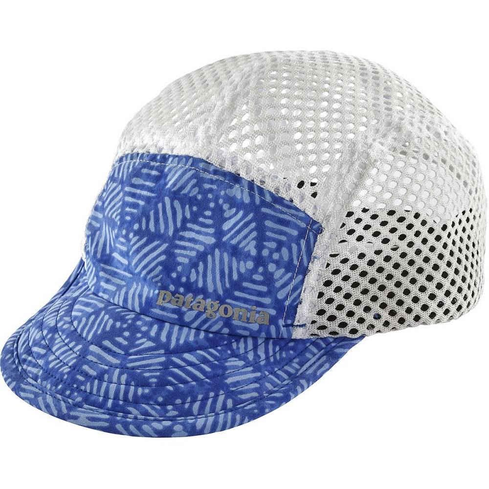 パタゴニア レディース ランニング・ウォーキング【Duckbill Cap】Batik Hex Big/Imperial Blue