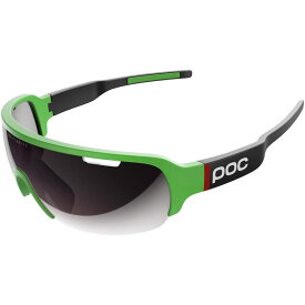 ピーオーシー レディース スポーツサングラス【DO Half Blade Sunglasses】Cannondale Green/Uranium Black/Violet/Silver Mirror
