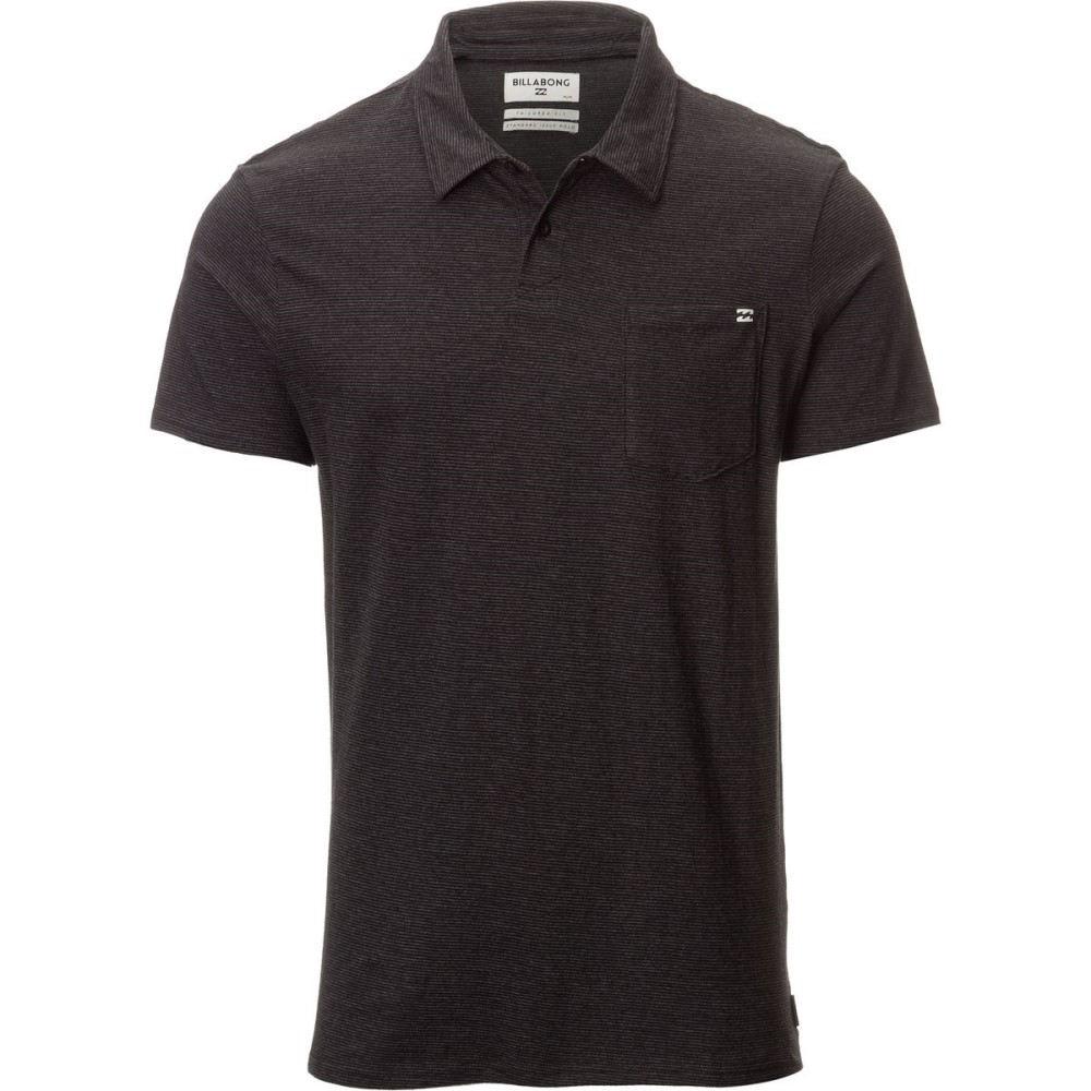 ビラボン メンズ トップス ポロシャツ【Standard Issue Polo Shirts】Black Heather