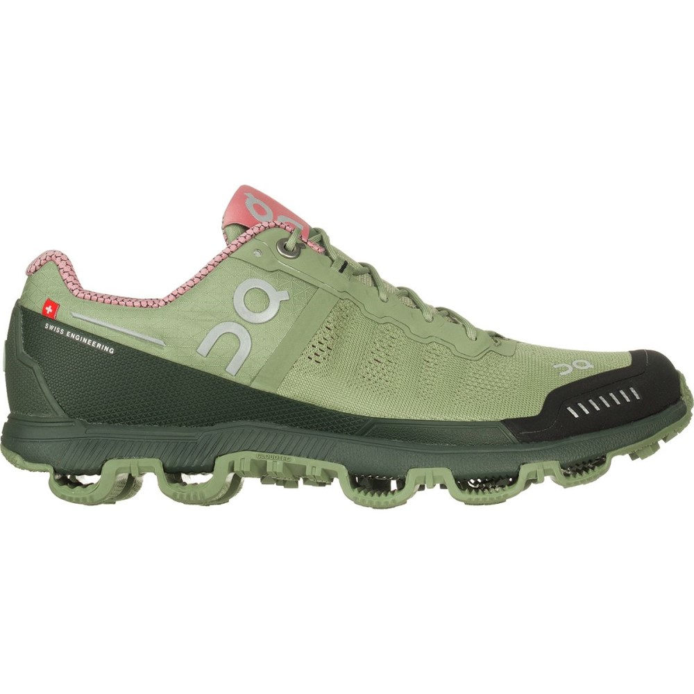 オン レディース ランニング・ウォーキング シューズ・靴【Cloudventure Shoe】Reseda/Rose