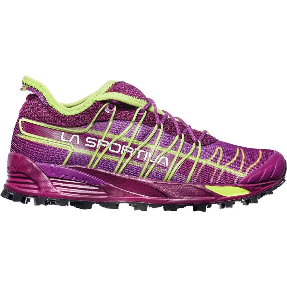 ラスポルティバ レディース ランニング・ウォーキング シューズ・靴【Mutant Trail Running Shoe】Plum/Apple Green