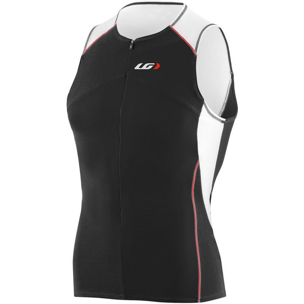 ルイスガーナー メンズ トライアスロン トップス【Comp Sleeveless Jersey】White/Black/Red