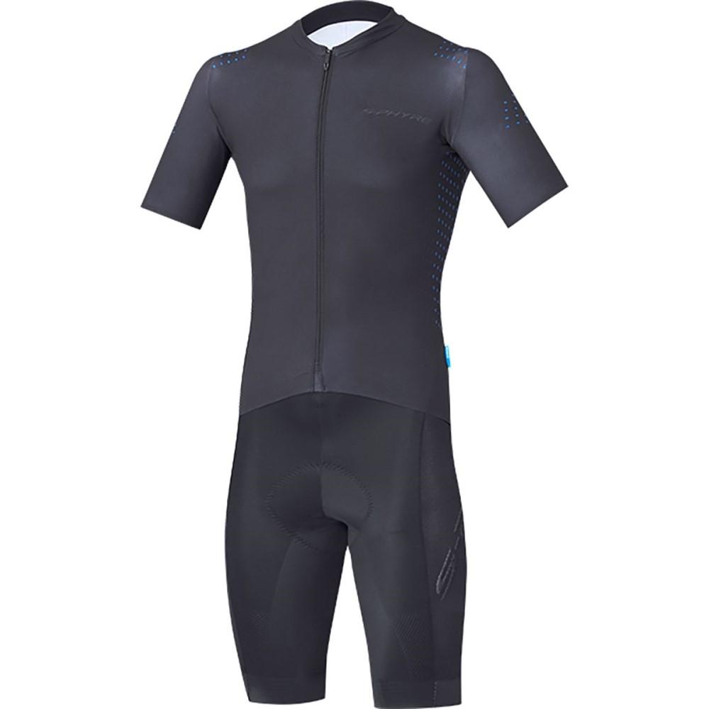 シマノ メンズ トライアスロン トップス【S - PHYRE Racing Skinsuits】Blue