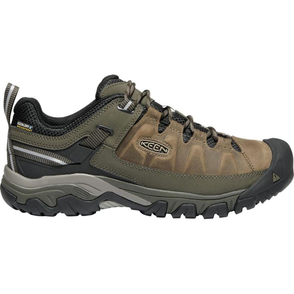 キーン メンズ ハイキング・登山 シューズ・靴【Targhee III Waterproof Leather Hiking Shoes】Bungee Cord/Black