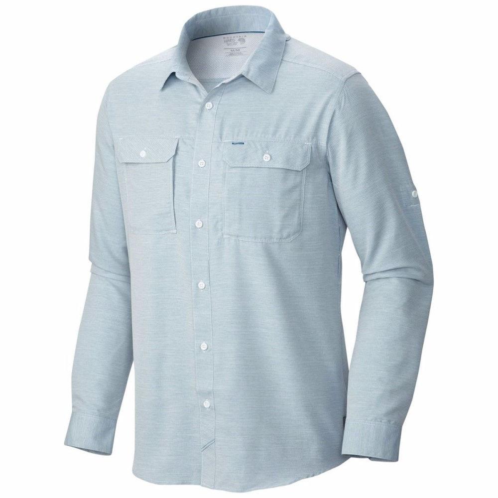 マウンテンハードウェア メンズ トップス シャツ【Canyon Long - Sleeve Shirt】Phoenix Blue