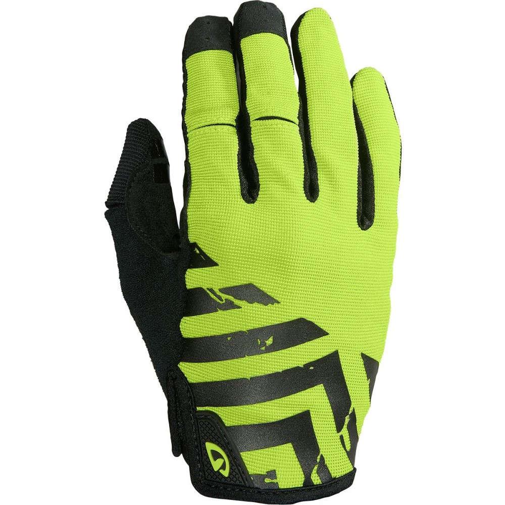 ジロ メンズ 自転車 グローブ【DND Gloves】Black/Lime