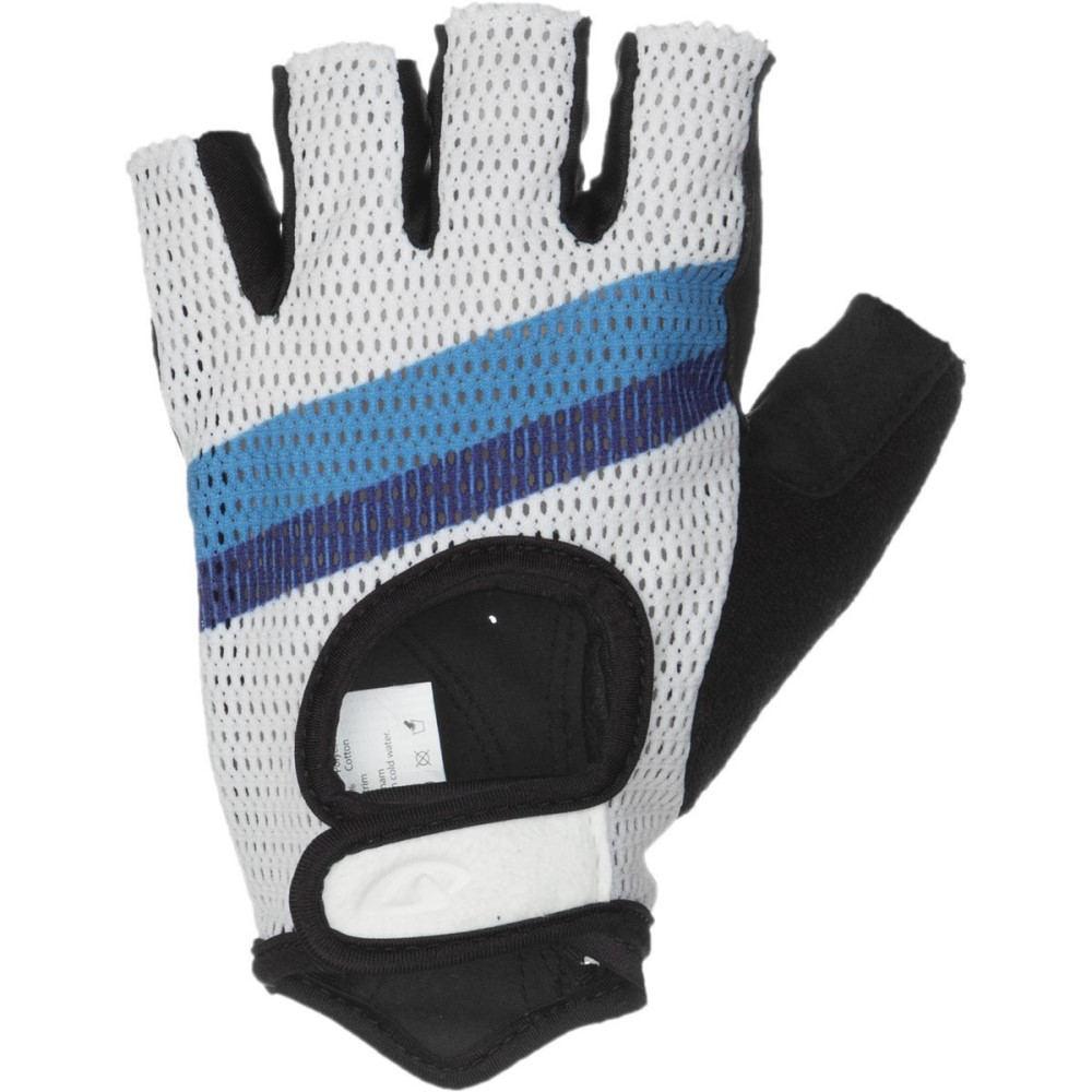 ジロ メンズ 自転車 グローブ【Siv Gloves】White/Stripe