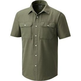 マウンテンハードウェア メンズ トップス 半袖シャツ【Canyon Shirts】Surplus Green
