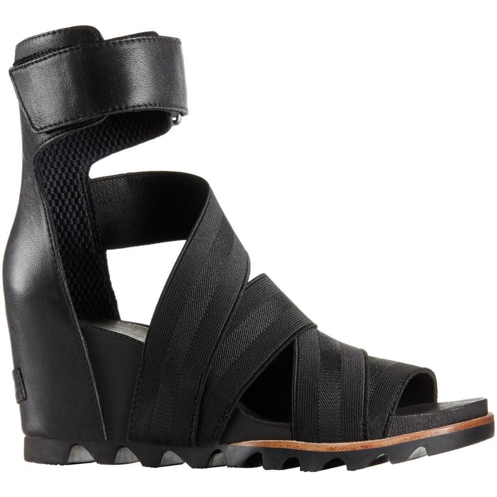 ソレル レディース シューズ・靴 サンダル・ミュール【Joanie Gladiator II Sandal】Black