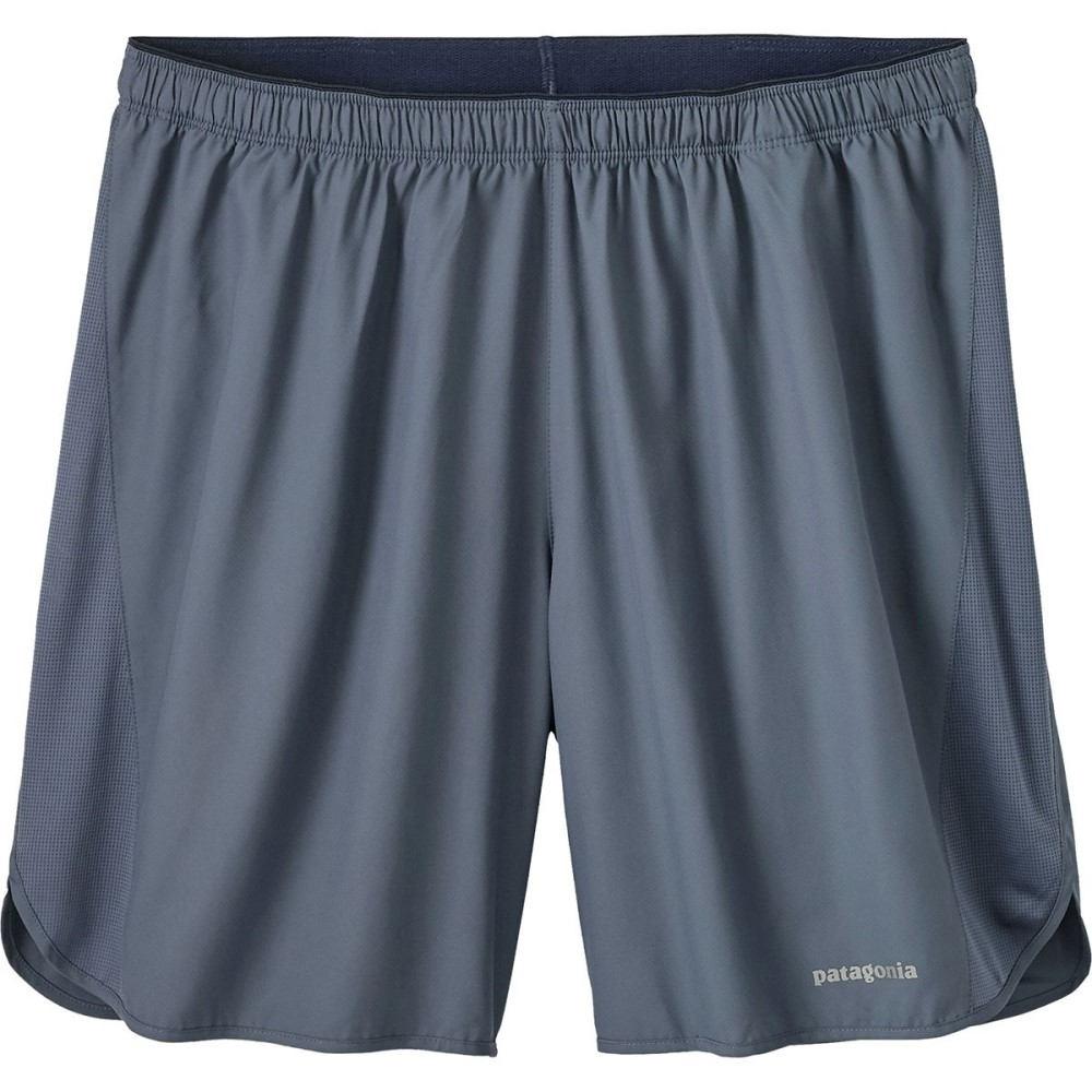 パタゴニア メンズ フィットネス・トレーニング ボトムス・パンツ【Strider 7in Shorts】Dolomite Blue