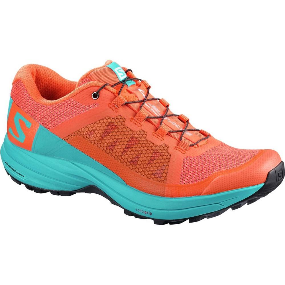 サロモン レディース ランニング・ウォーキング シューズ・靴【XA Elevate Trail Running Shoe】Nasturtium./Blue Bird/Black