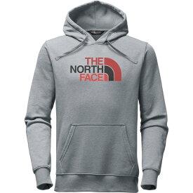 ザ ノースフェイス メンズ トップス パーカー【Half Dome Pullover Hoodies】Tnf Light Grey Heather/Bossa Nova Red Multi