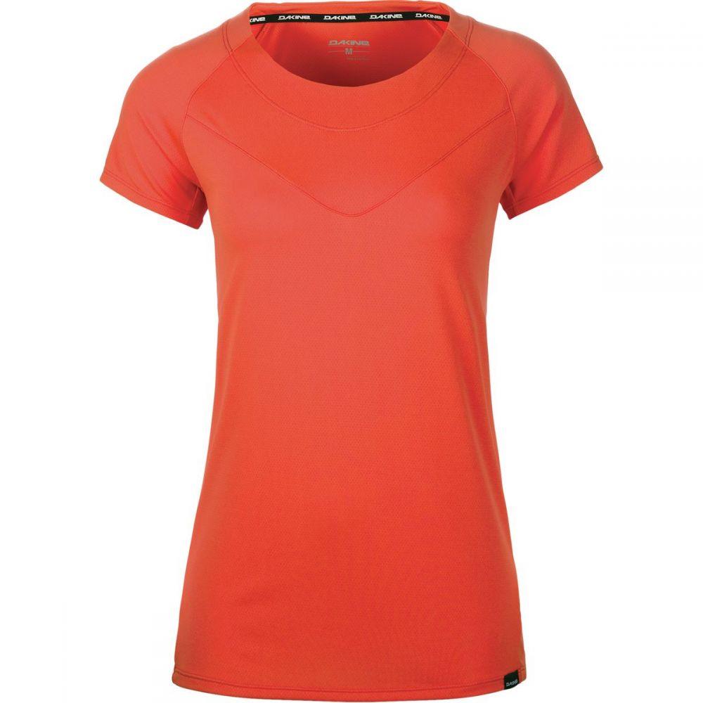ダカイン レディース 自転車 トップス【Faye Jersey - Short - Sleeve】Bright Coral