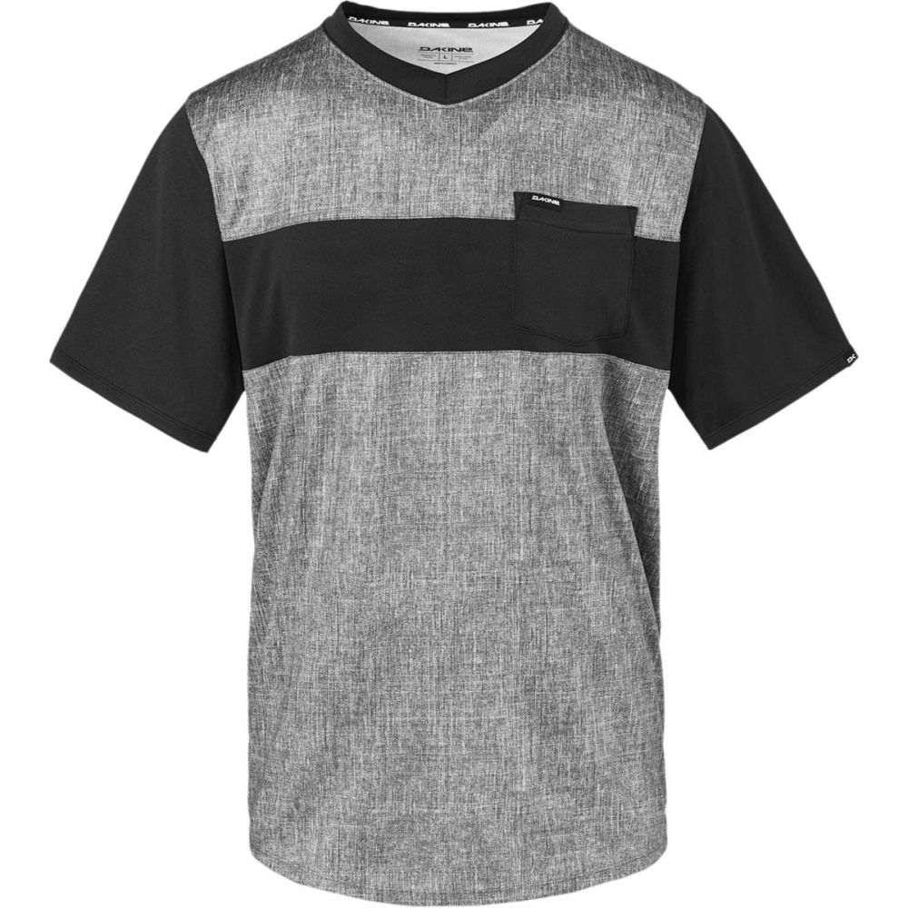 ダカイン メンズ 自転車 トップス【Vectra Short - Sleeve Jerseys】Carbon/Black