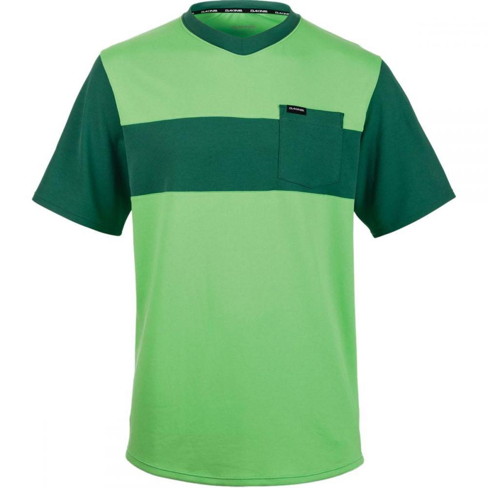 ダカイン メンズ 自転車 トップス【Vectra Short - Sleeve Jerseys】Summer Green/Fir