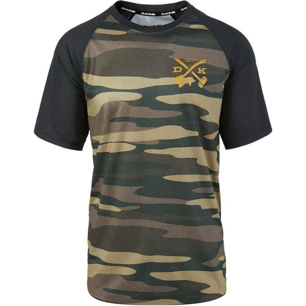 ダカイン メンズ 自転車 トップス【Dropout Jersey - Short Sleeves】Field Camo
